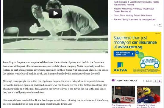 Yahoo - Bruce Lee